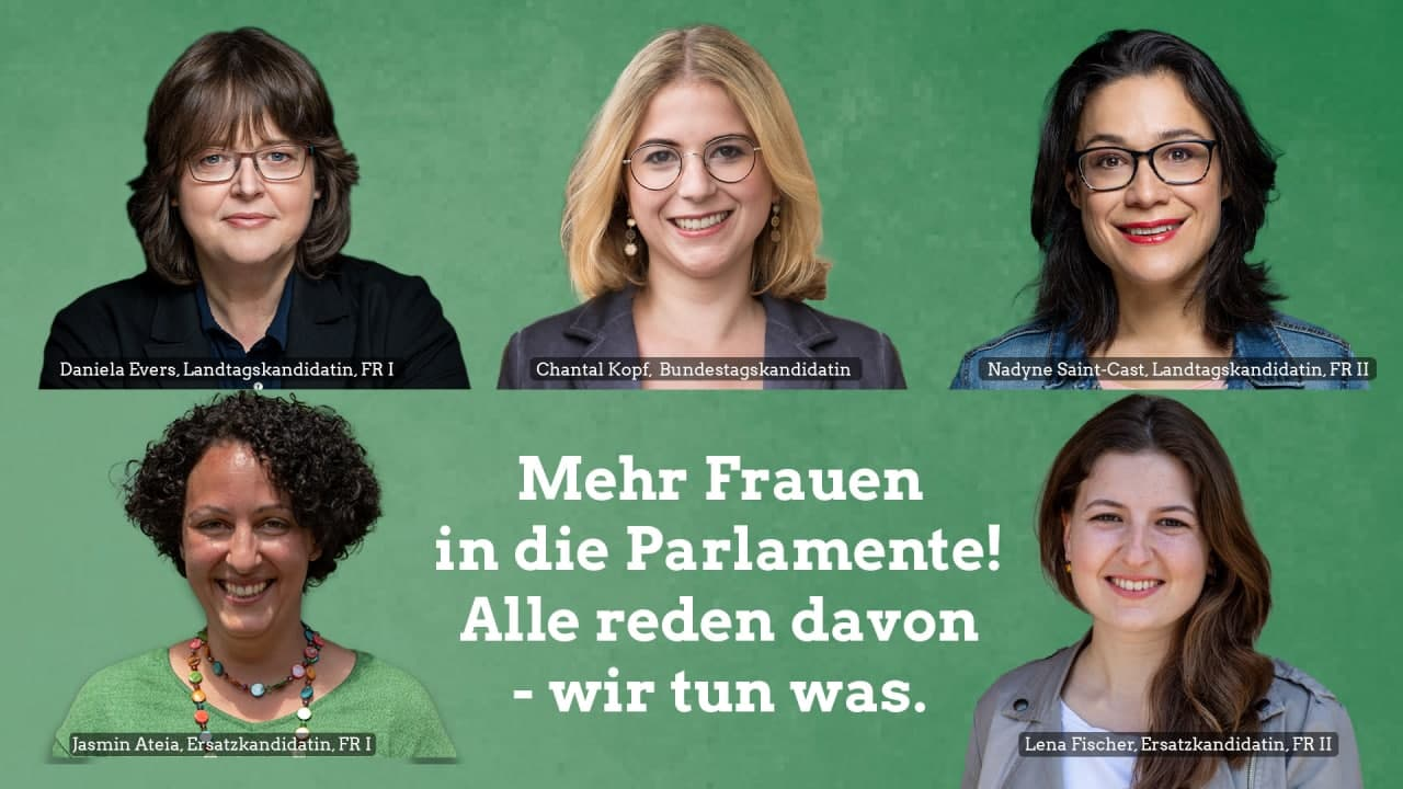 Mehr Frauen in die Parlamente! Alle reden davon – wir tun was.