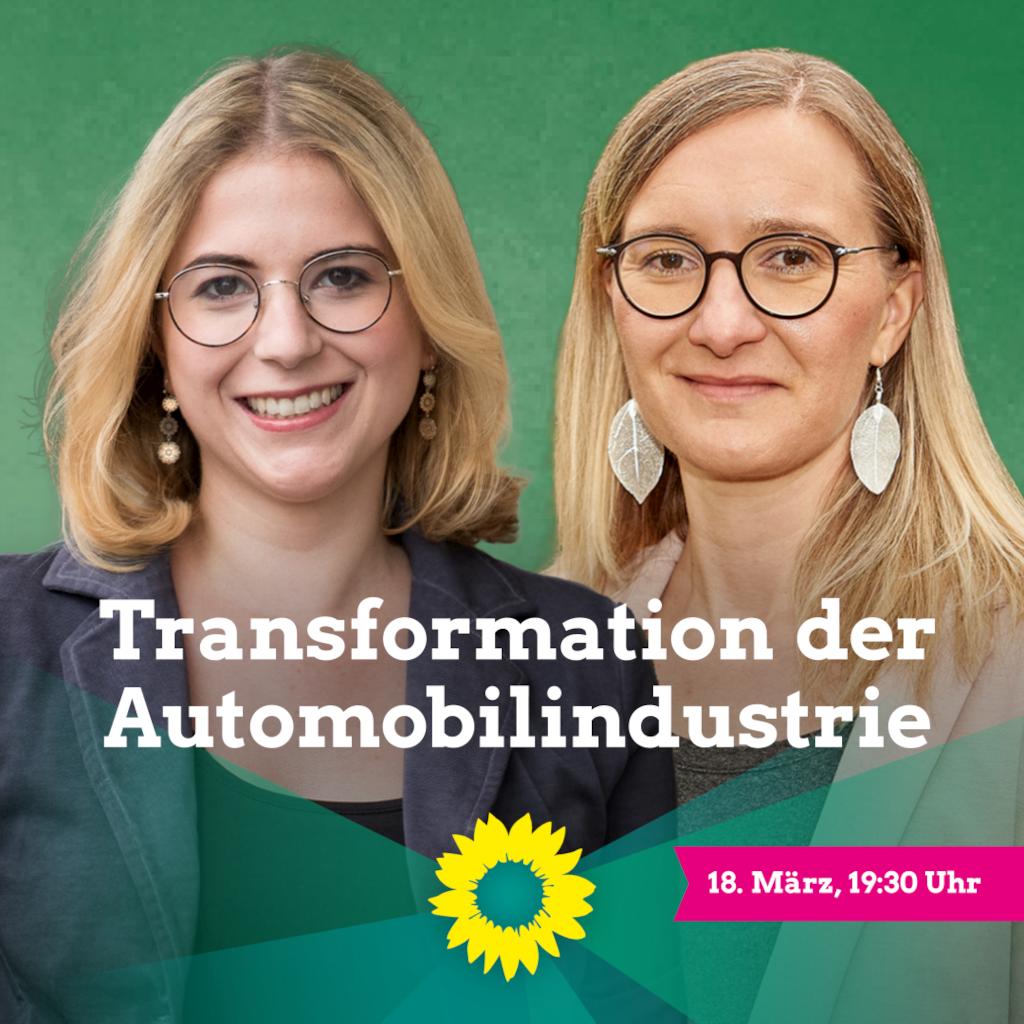 """""""Transformation der Automobilindustrie"""" – Diskussionsveranstaltung mit Annette Reif"""